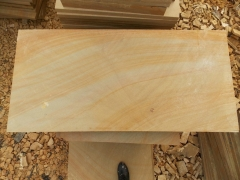 Yellow Wood Sandstone Engineer Stone with Curved Vein and Random Vein