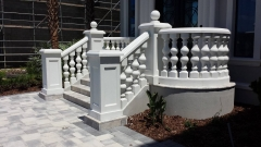 Outdoor Granite and Marble Handrail Baluster