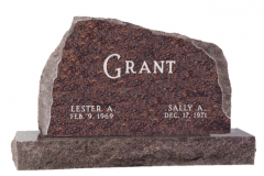 Custom Granite Colors American Style Monument Granite Tombstone