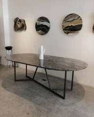 Oval and Square Dining Table, Modern Dining Room Tables